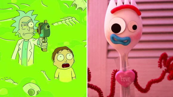 Rick & Morty and Ask Forky