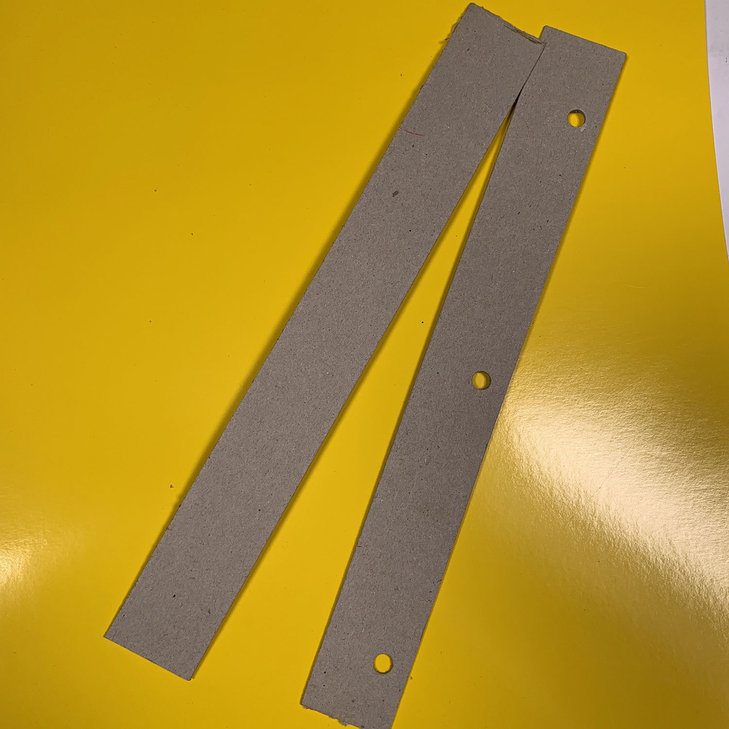 Step-by-step for making a pegbar