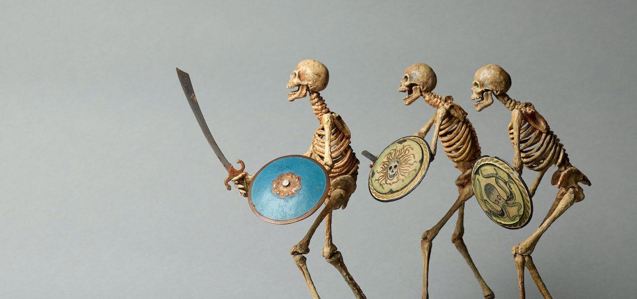 Ray Harryhausen, skeletons