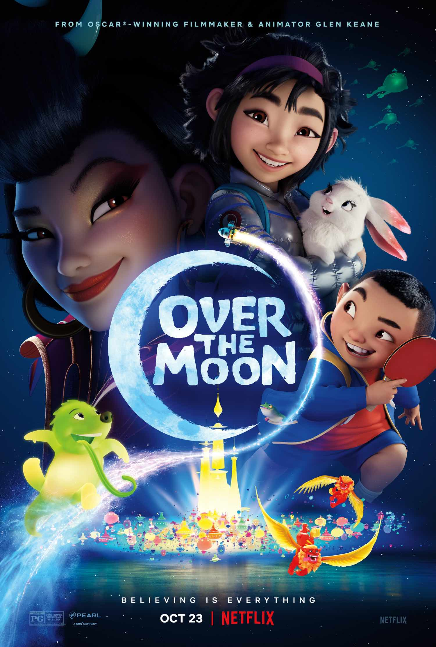 """Over the Moon"" poster"