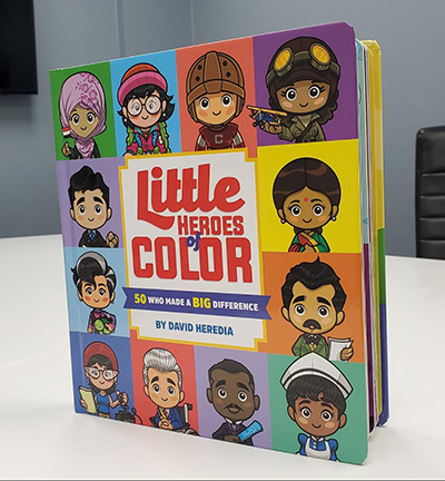 """Little Heroes of Color"" by David Heredia."
