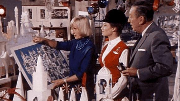 Mary Blair and Walt Disney