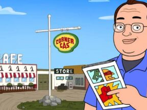 """Corner Gas Animated"""