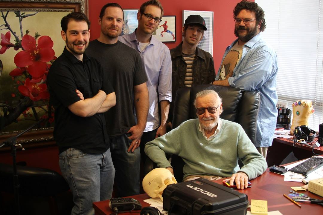Aron Fromm, Stan Lee photo