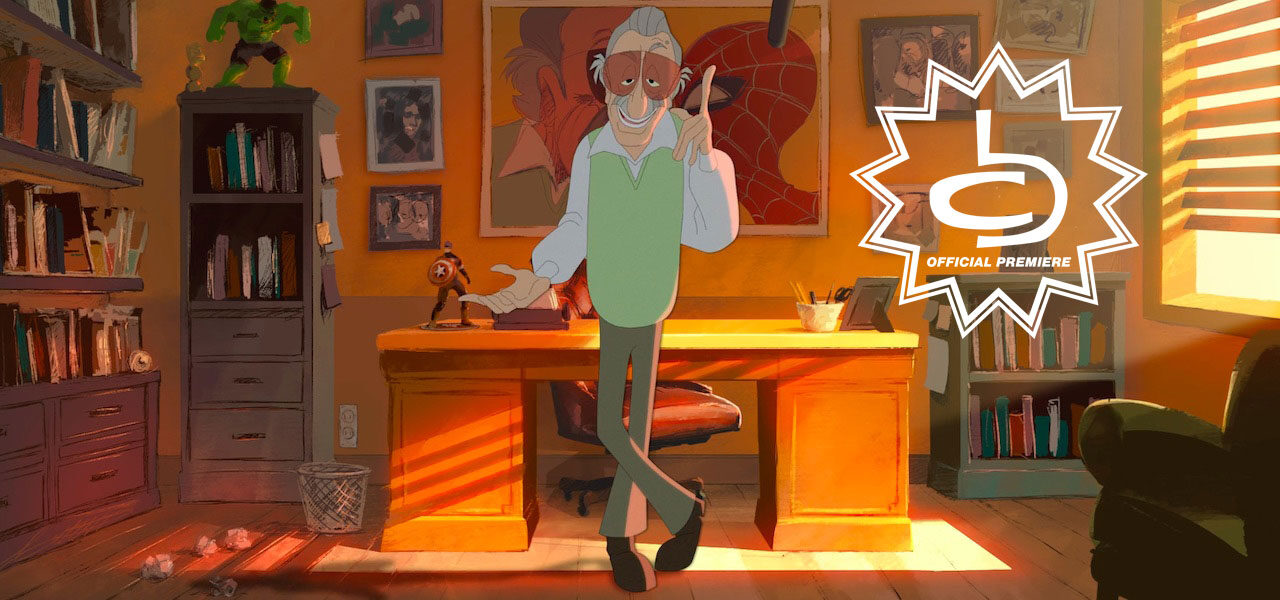 Stan Lee Short By Aron Fromm