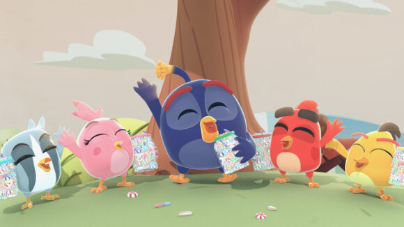 """Angry Birds Bubble Trouble"""