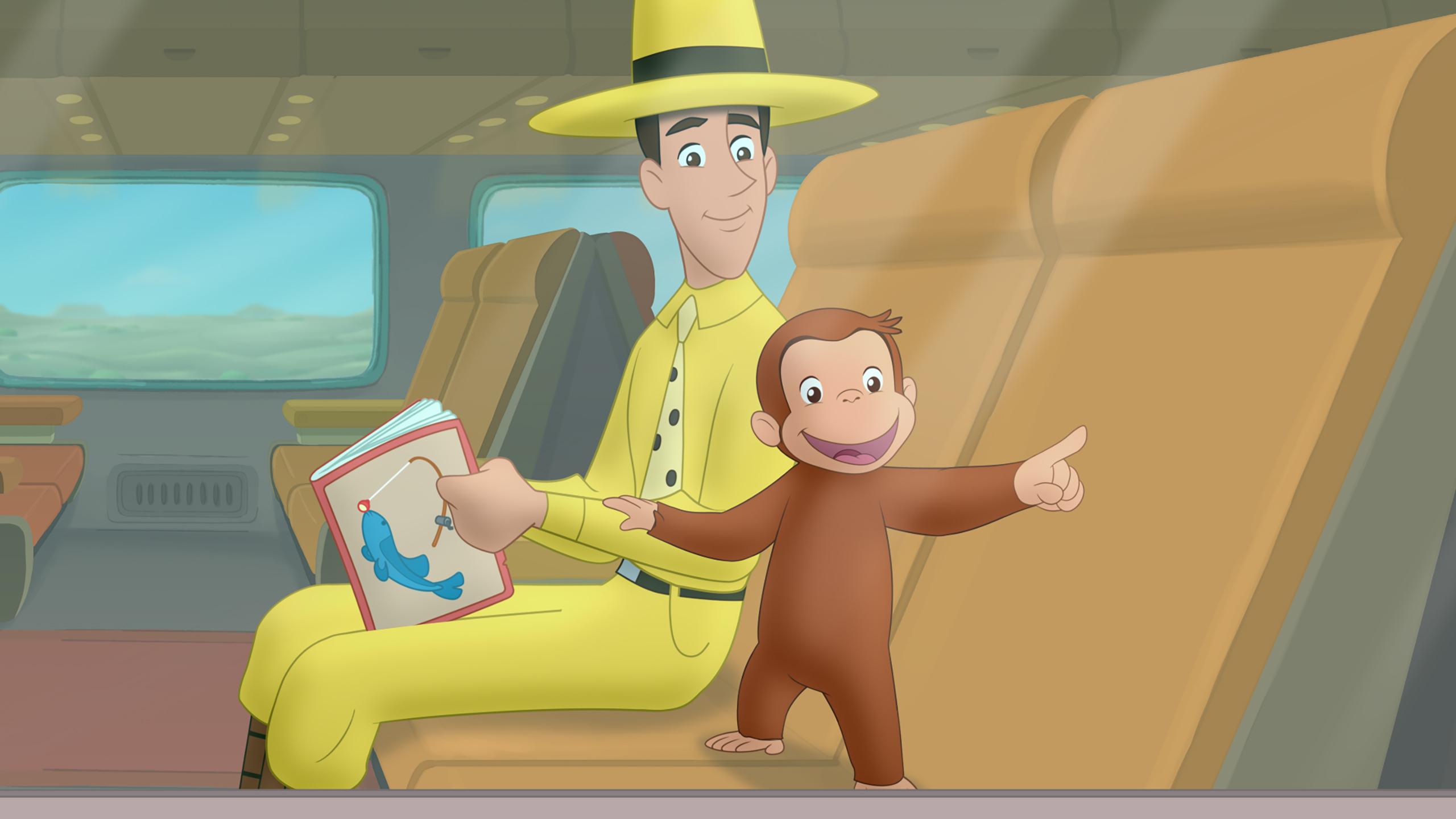 """Curious George: Go West, Go Wild"""