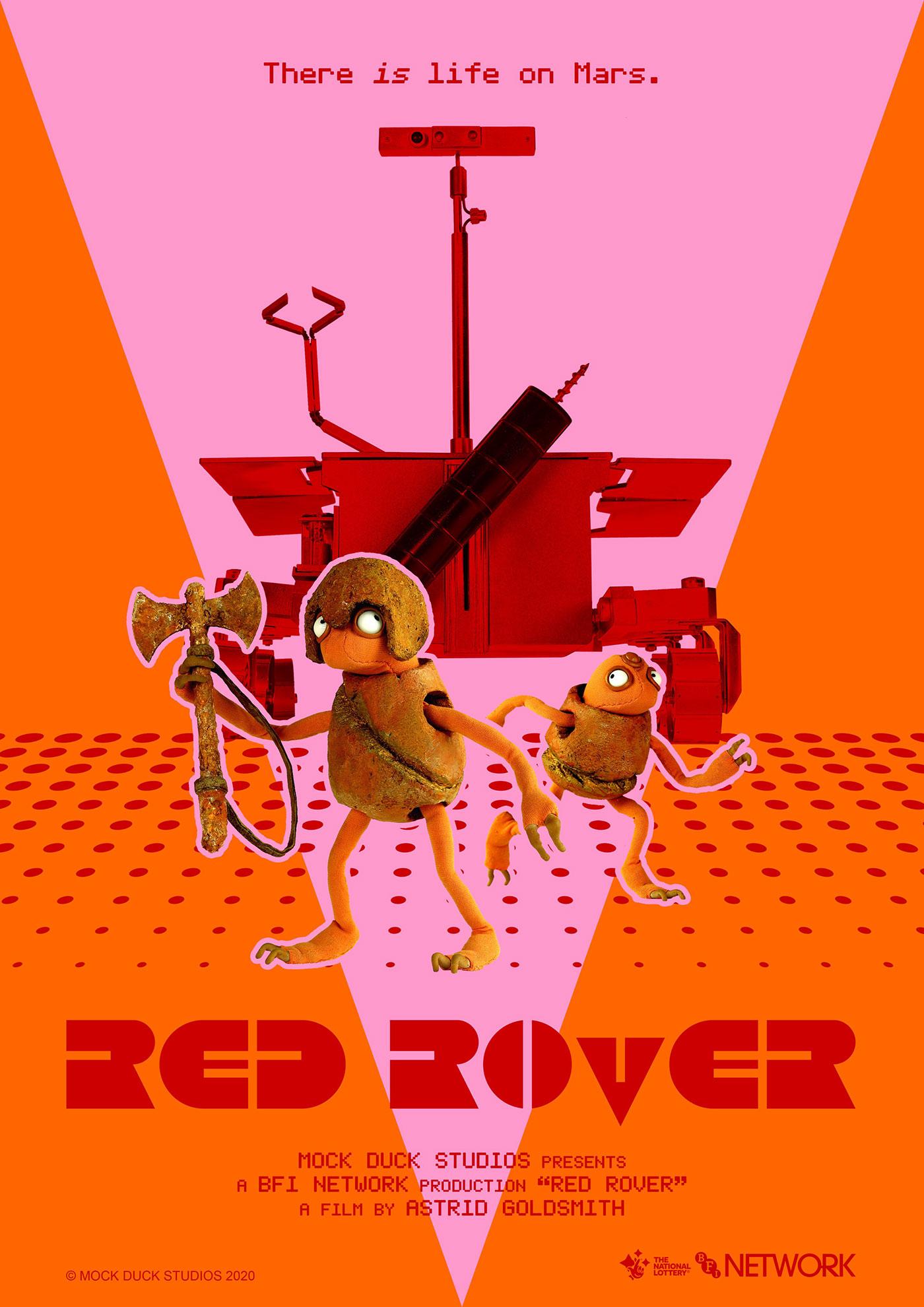 Rover červený