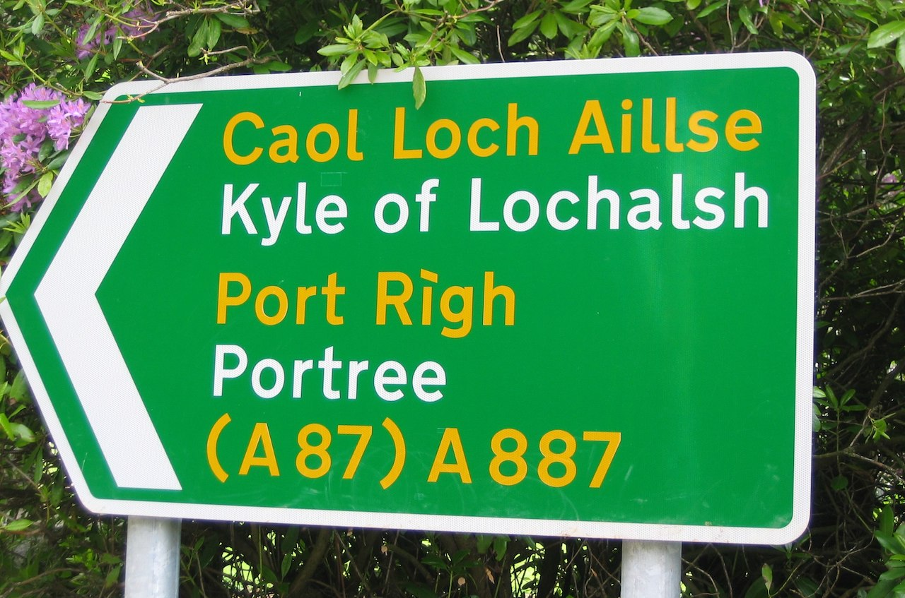 Gaelic sign
