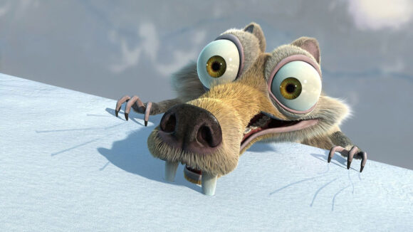 Scrat from Ice Age