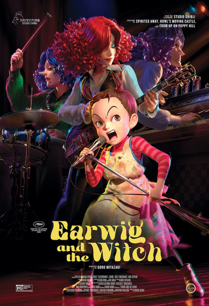 """Earwig and the Witch"" poster"