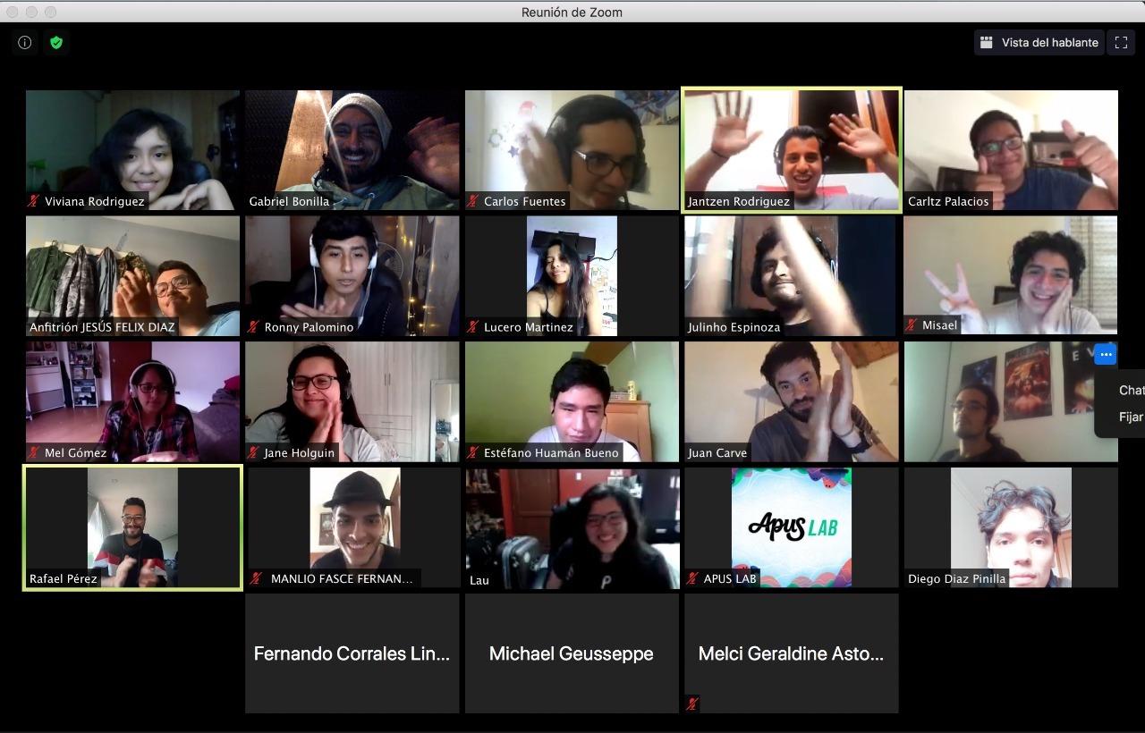 Rafatoon Zoom meeting