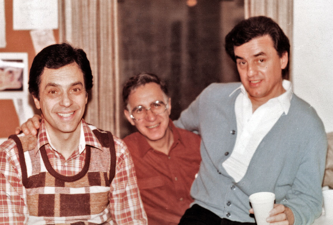 From left to right: Vinnie Cafarelli, Jack Dazzo, Vinnie Bell.