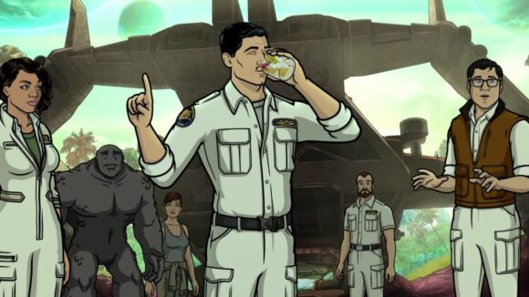 "Floyd County has produced 11 seasons of the FXX series ""Archer."""