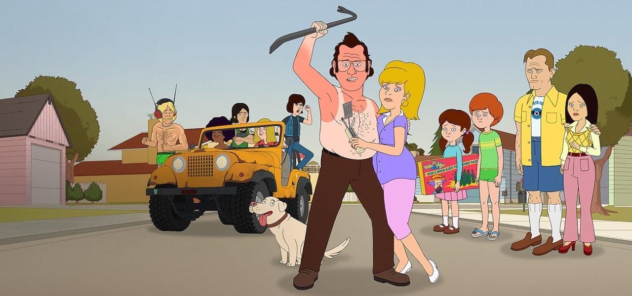 """De Netflix """"F es para la familia,"""" para lo cual Oasis Animation brindó servicios de preproducción y producción."""