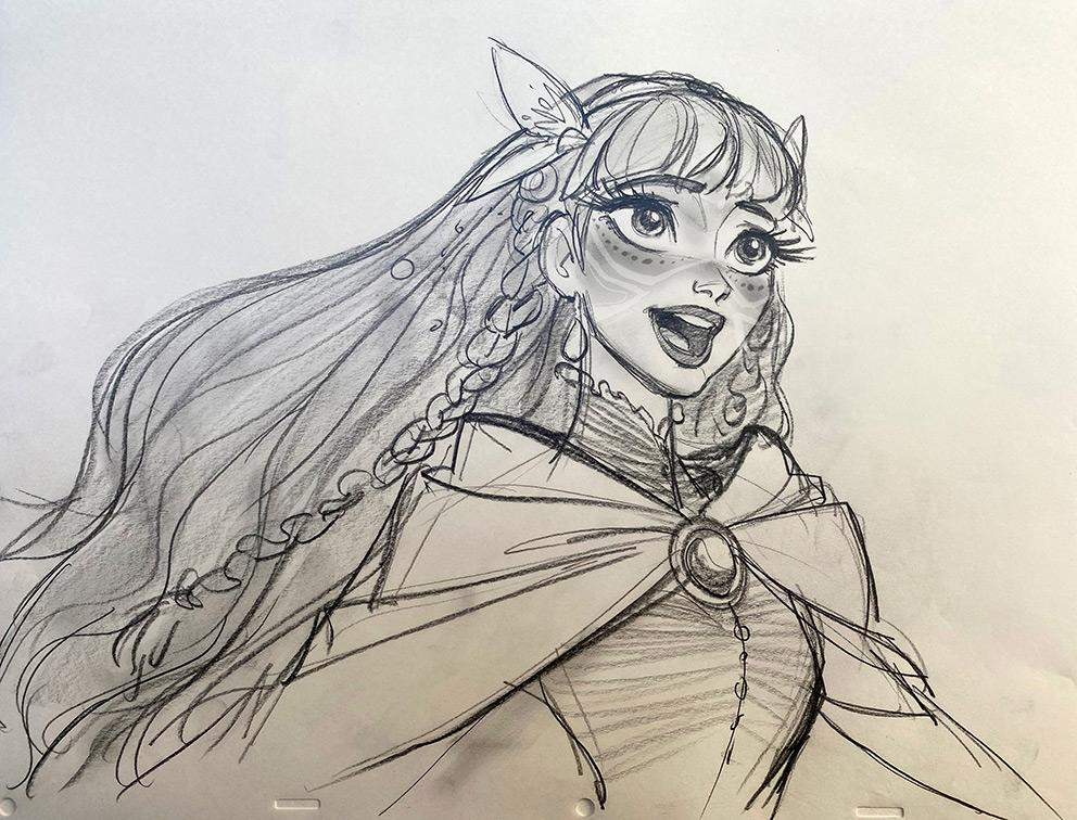 Belle, Jin Kim