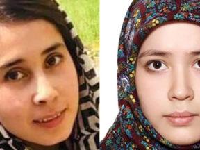 Tayiba Musavi and Fatima Mohammadi