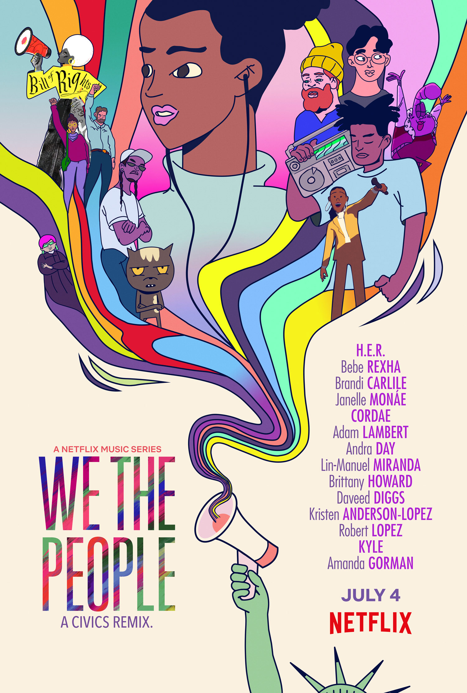 Animation All-Stars Team With Obamas For Netflix Music Video Series 'We The People'