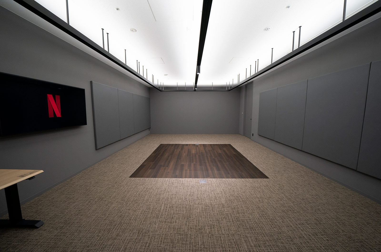 <strong>Lab:</strong> This multi-functional space is designed to be a versatile room for innovation, like testing out new creative technologies such as vr or playing around with the latest motion capture technologies.
