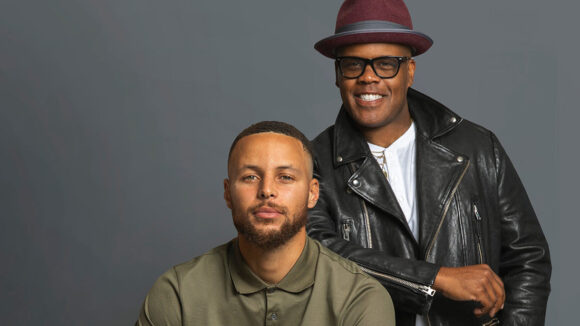 Stephen Curry and Erick Peyton