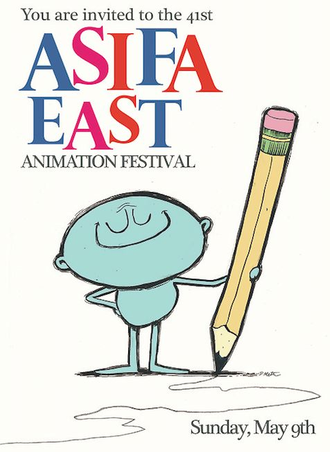 ASIFA Festival drawing by Dan Meth