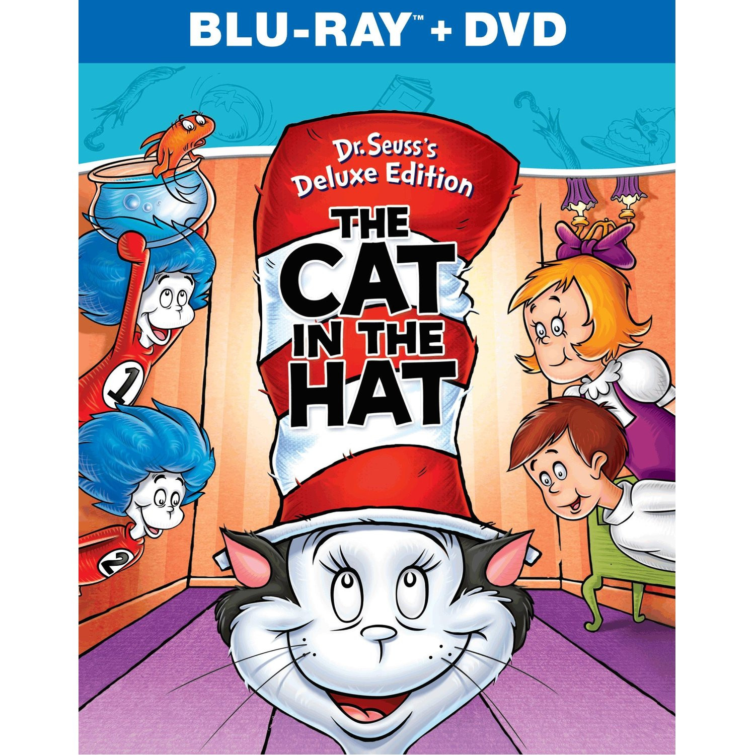 Dr Seusss The Cat In Hat Available On DVD And Blu Ray August