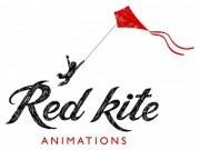 A3 Red Kite Grained Logo