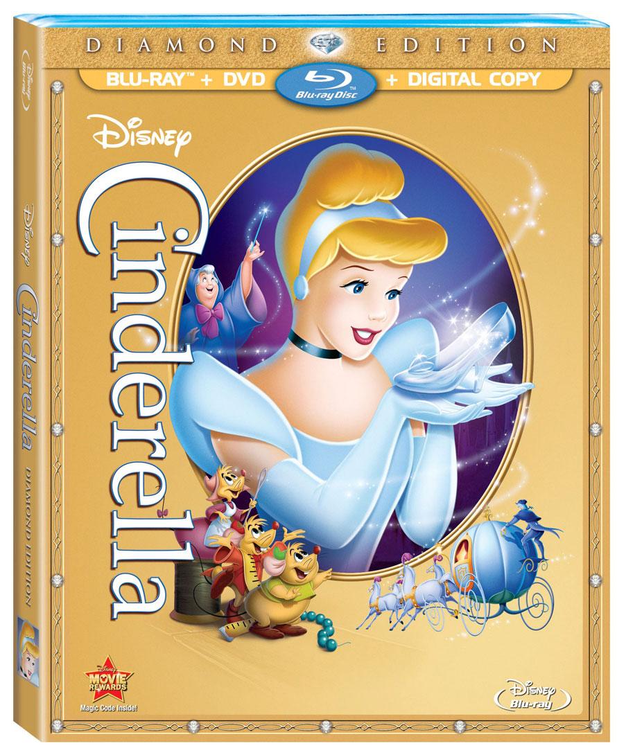 "Edition Diamond: ""Cinderella"" Diamond Edition Blu-ray To Debut On October 2"