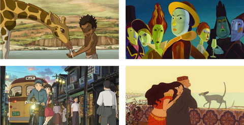 GKIDS Puts Forward Four Pictures For 2012 Best Animated Feature Oscar & 2012 Annie Awards