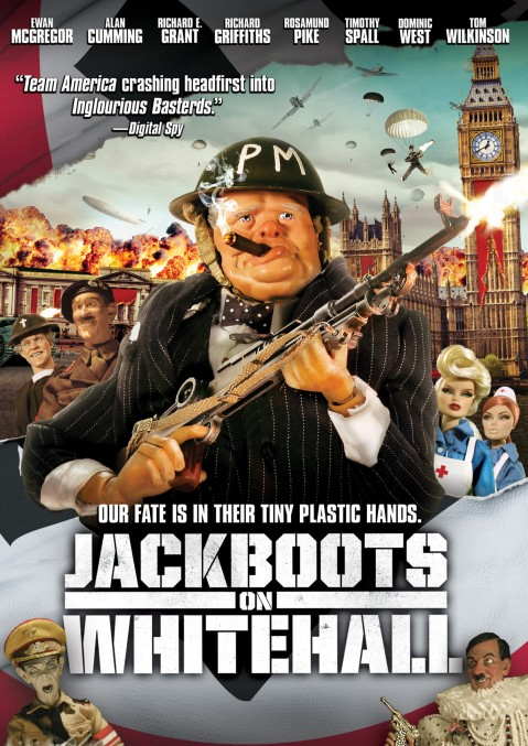 Jackboots on Whitehall DVD Box