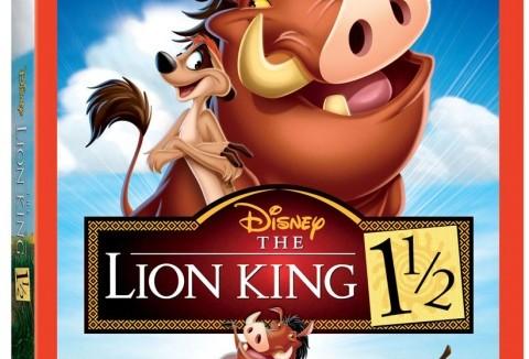 LionKingOnePointFiveDVDComboArt