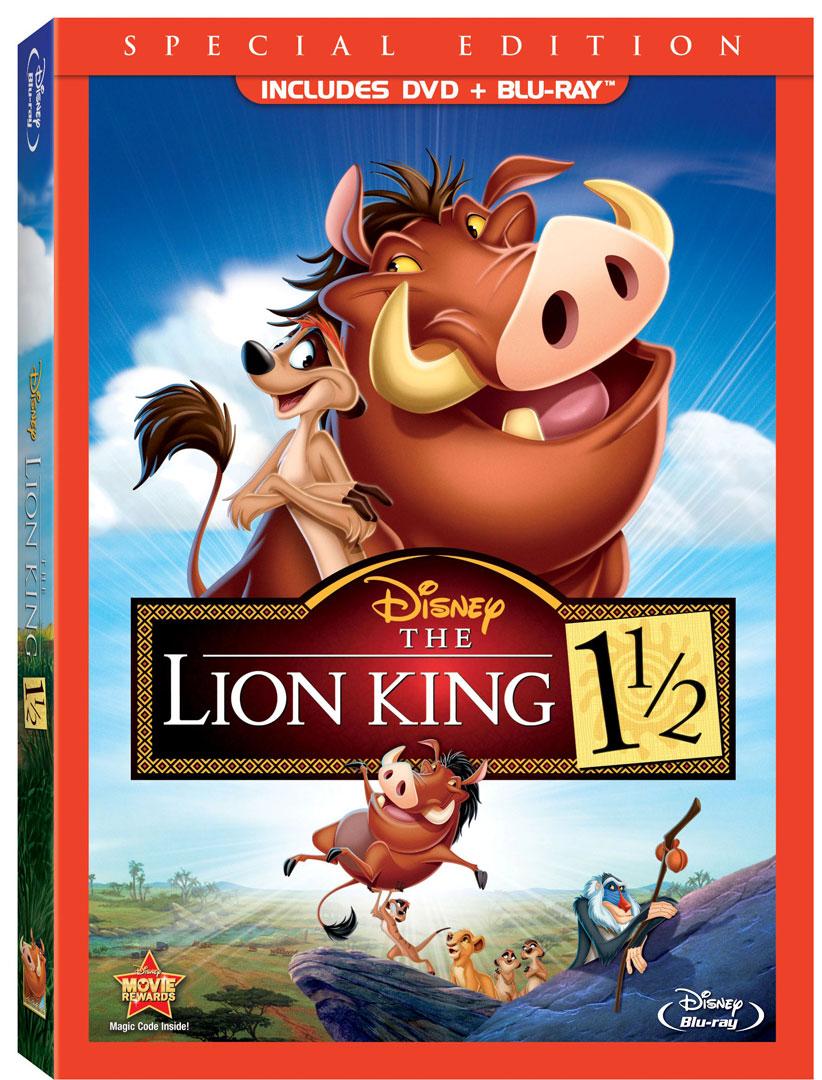 u0026quot lion king 1 1  2 u0026quot  and  u0026quot lion king 2 u0026quot  coming to blu
