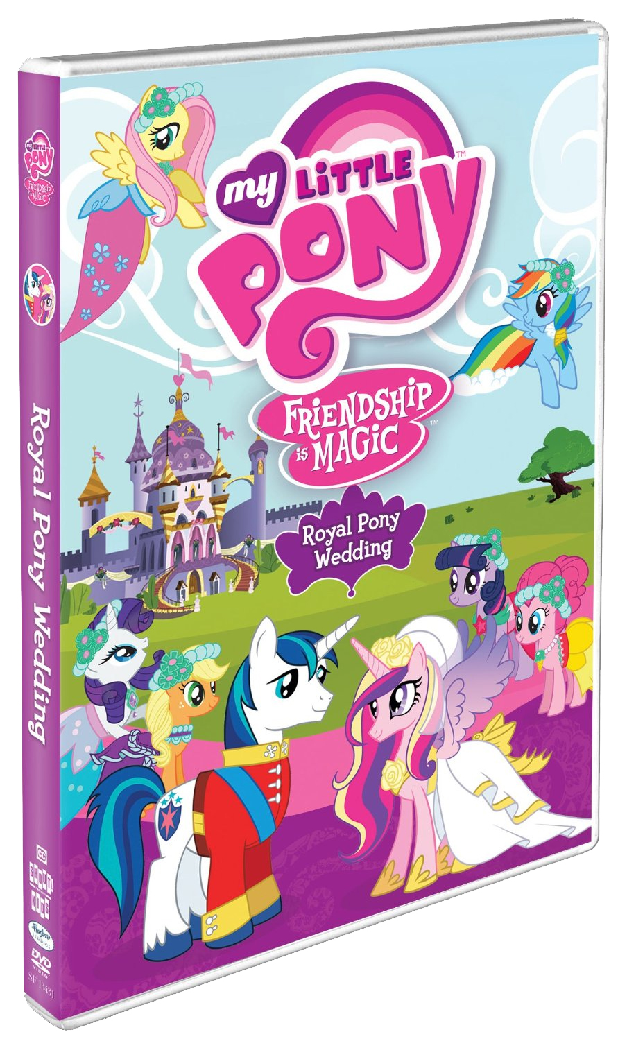 Love is in the air… its time to celebrate a royal wedding my little pony friendship is magic royal pony wedding is coming to dvd on august 7