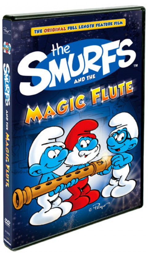 """""""The Smurfs and the Magic Flute"""" on DVD on August 14, 2012"""