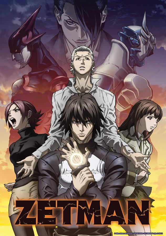 Zetman Anime Series Dark Action Series Zetman