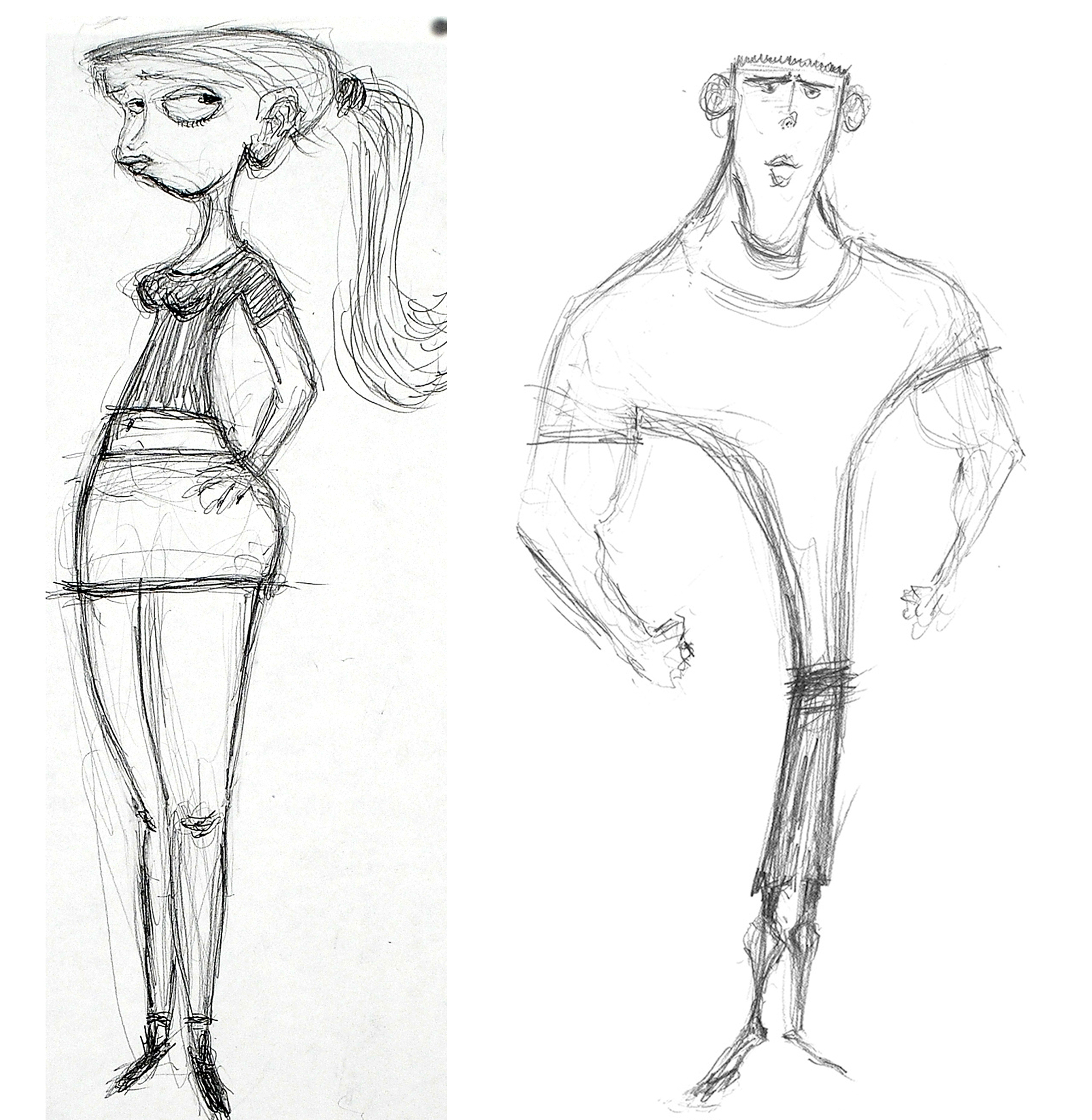 Meet paranorman character designer heidi smith for Cartoons to draw when your bored