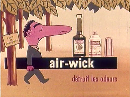 French animated commercial