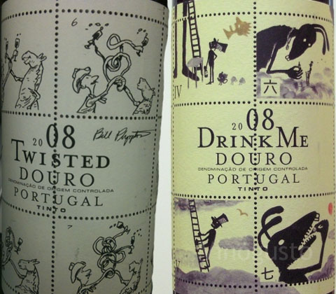 Animated Wine Labels