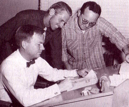 Chuck Jones, Ken Harris and Ben Washam