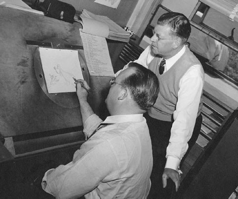 Tex Avery and Fred Quimby