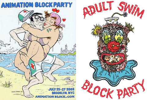 Animation Block Party and Adult Swim Party