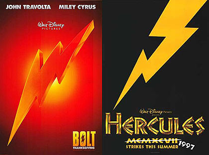 Bolt and Hercules Posters