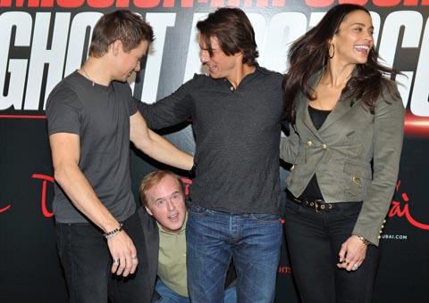 Brad Bird and Tom Cruise
