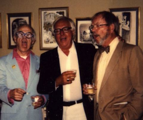 Ray Bradbury, Ward Kimball and Chuck Jones