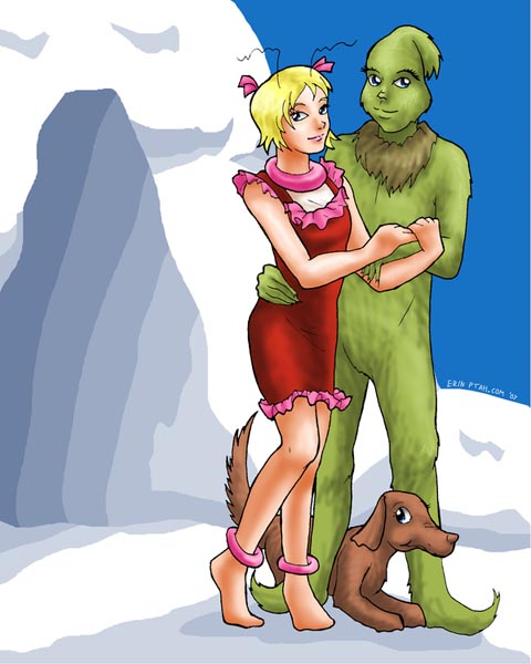 Cindy Lou and the Grinch