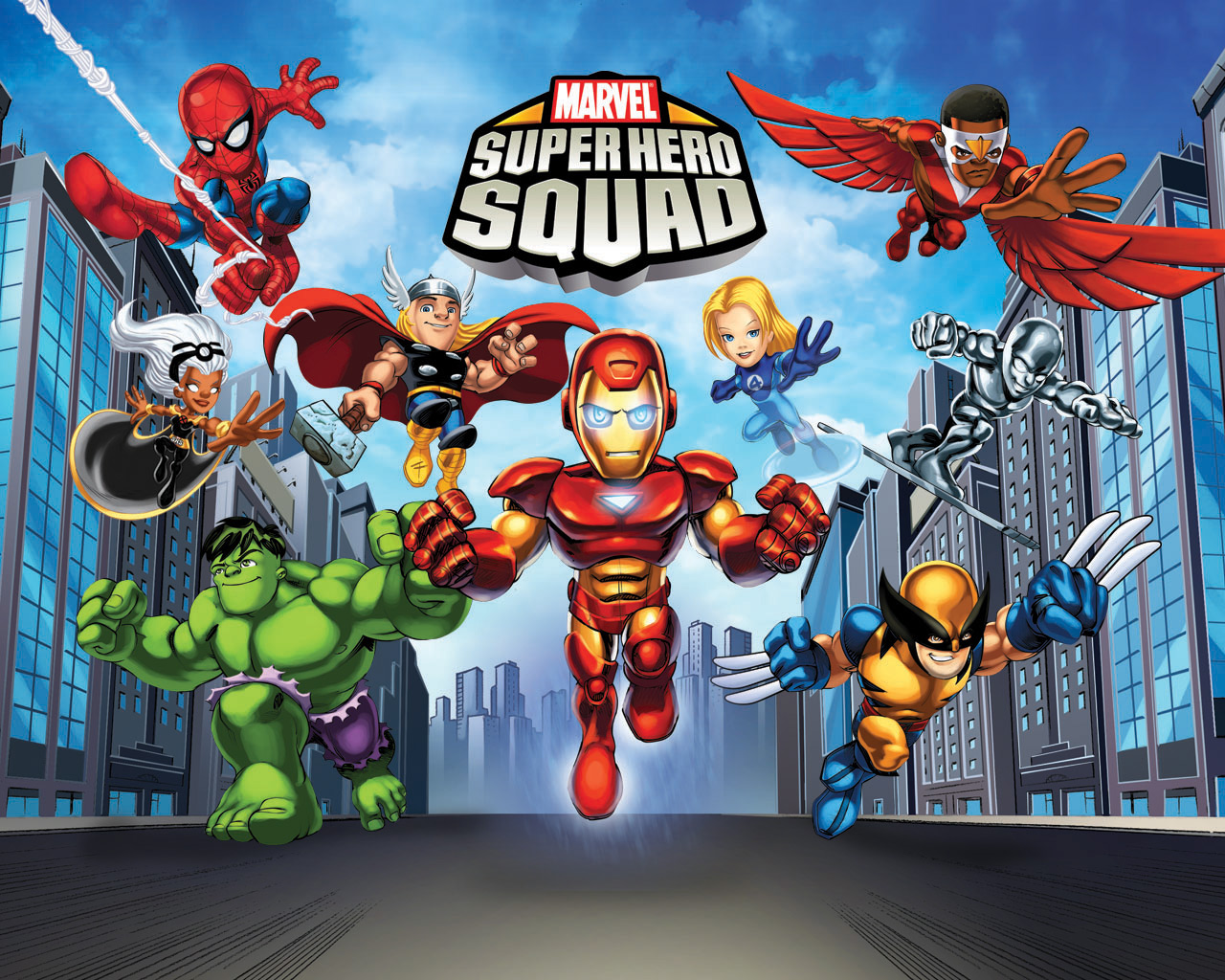 "The Superhero Squad"" Joins The Hub January 30"