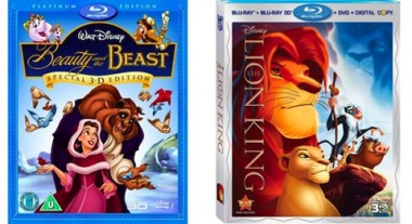 Beauty And The Beast And Lion King Coming In 3d