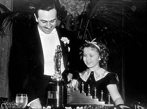 Walt Disney and Seven Oscars