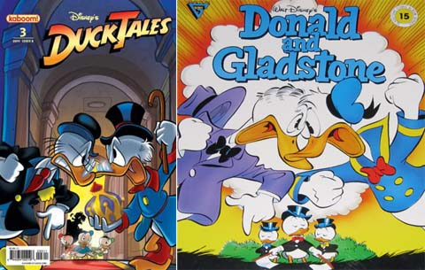 ducktales cover Ashley Tisdale Cleavage at Comic Con