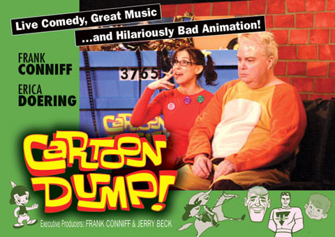 MONDAY in LA: Cartoon Dump 2010 Halloween Show